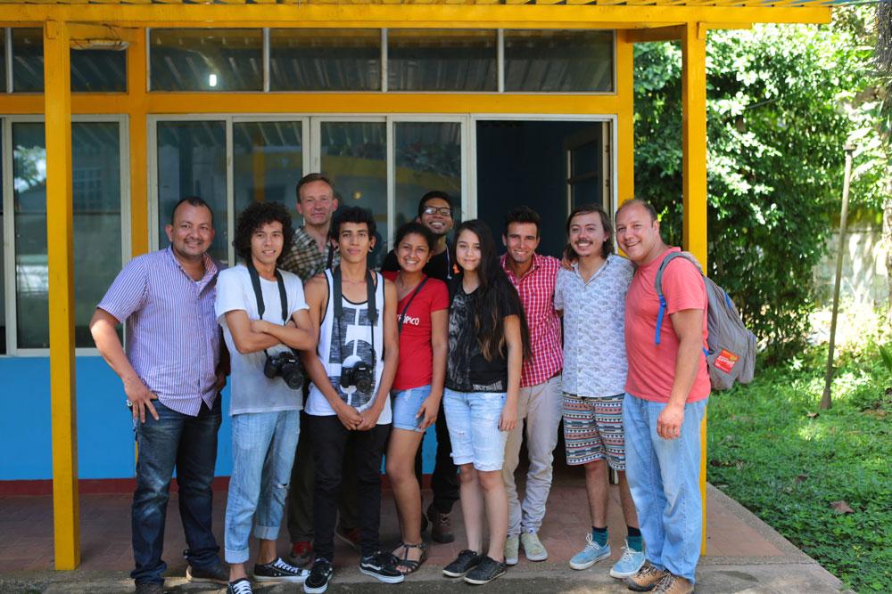 San-Jose-del-Guaviare---DocumentaryFilm-Workshop_Team